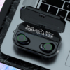Kép 1/4 - Vezeték nélküli Bluetooth fülhallgató / 2in1 Powerbank töltőtokkal