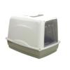 Kép 2/4 - Zárt macskatoalett - ajtóval, alomtálcával (PSM-609055)