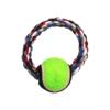 Kép 1/2 - Labdás kötéljáték kutyáknak (BPS-8600)