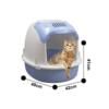 Kép 3/3 - Nyitott macskatoalett / szagmentesítő szűrővel (BPS-5739)
