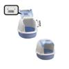 Kép 2/3 - Nyitott macskatoalett / szagmentesítő szűrővel (BPS-5739)