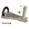 Kép 4/4 - Macska kaparófa /puha szőnyeggel és labdával (BPS-10723)