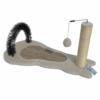 Kép 1/4 - Macska kaparófa /puha szőnyeggel és labdával (BPS-10723)