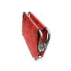 Kép 2/3 - M-es összecsukható kutyaágy / fémvázas kutyafekhely, piros – 80x50 cm