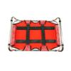 Kép 3/3 - M-es összecsukható kutyaágy / fémvázas kutyafekhely, piros – 80x50 cm