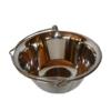 Kép 3/4 - Tálaló bogrács állvánnyal - rozsdamentes, 0,75 liter