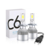 Kép 2/3 - H7 C6 LED fényszóró szett / 1 pár, 36W, 3800LM