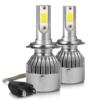 Kép 3/3 - H7 C6 LED fényszóró szett / 1 pár, 36W, 3800LM