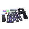 Kép 2/6 - Discogömb hatású, RGB LED lábtérvilágítás autóba / távirányítóval, USB-s