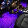 Kép 3/6 - Discogömb hatású, RGB LED lábtérvilágítás autóba / távirányítóval, USB-s