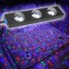 Kép 1/6 - Discogömb hatású, RGB LED lábtérvilágítás autóba / távirányítóval, USB-s