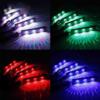 Kép 6/6 - Discogömb hatású, RGB LED lábtérvilágítás autóba / távirányítóval, USB-s