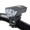 Kép 2/3 - LED-es kerékpár lámpa / első / Tölthető akkumulátorral (16765)