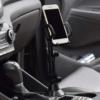 Kép 2/5 - Autós pohártartóba tehető telefontartó / állítható