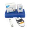 Kép 1/3 - Digitális vércukorszintmérő / Hordozótasakban / 50 db tesztcsíkkal