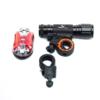 Kép 1/3 - Többfunkciós biciklilámpa készlet / elemlámpa is