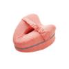 Kép 1/3 - Kontúr lábpárna rugalmas pánttal, a kényelmes alvásért / térd- és lábtámasztó párna, piros