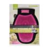 Kép 3/3 - Kisállat fürdetőkesztyű / sűrű, apró sörtékkel - rózsaszín