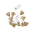 Kép 2/4 - Prémium karácsonyi fa LED-füzér / 10 db LED, fenyőmintás (1101666)