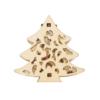 Kép 3/4 - Prémium karácsonyi fa LED-füzér / 10 db LED, fenyőmintás (1101666)