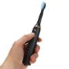 Kép 4/4 - Tölthető masszásfogkefe több tisztítási móddal / elektromos fogkefe, fekete