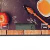 Kép 2/4 - Digitális konyhai mérleg, érintés érzékelővel – gránátalmás mintával / 5 kg-ig