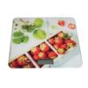 Kép 1/4 - Digitális konyhai mérleg, érintés érzékelővel – epres mintával / 5 kg-ig