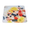 Kép 1/4 - Digitális konyhai mérleg, érintés érzékelővel – narancsosmintával / 5 kg-ig