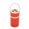 Kép 2/4 - Retro kültéri LED lámpa – hordozható-kihúzható / piros (DP-7407)
