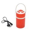 Kép 4/4 - Retro kültéri LED lámpa – hordozható-kihúzható / piros (DP-7407)