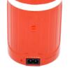 Kép 3/4 - Retro kültéri LED lámpa – hordozható-kihúzható / piros (DP-7407)