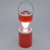 Kép 1/4 - Retro kültéri LED lámpa – hordozható-kihúzható / piros (DP-7407)