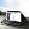 Kép 1/4 - Műszerfali telefontartó autóba tapadókoronggal / stabil, csúszásmentes