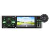 """Kép 1/3 - MP5 multimédiás autórádió / Bluetooth, MirrorLink, 4.1"""" képernyő – autós fejegység, videó és zenelejátszó + FM rádió"""