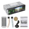 """Kép 2/3 - MP5 multimédiás autórádió / Bluetooth, MirrorLink, 4.1"""" képernyő – autós fejegység, videó és zenelejátszó + FM rádió"""
