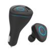 Kép 3/5 - Bluetooth headset és USB töltő autóba – szivargyújtós / fekete (R6000)