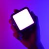 Kép 1/8 - Ulanzi VL49 mini RGB LED videólámpa - állítható szín és -színhőmérséklet, akkumulátor, vakupapucs foglalat