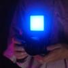 Kép 8/8 - Ulanzi VL49 mini RGB LED videólámpa - állítható szín és -színhőmérséklet, akkumulátor, vakupapucs foglalat