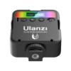 Kép 3/8 - Ulanzi VL49 mini RGB LED videólámpa - állítható szín és -színhőmérséklet, akkumulátor, vakupapucs foglalat