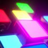 Kép 4/8 - Ulanzi VL49 mini RGB LED videólámpa - állítható szín és -színhőmérséklet, akkumulátor, vakupapucs foglalat