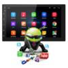 """Kép 2/5 - Autós média lejátszó 9.2"""" érintőkijelzővel, Android rendszerrel / 16 GB, 2 DIN, videó- és zenelejátszó, FM rádió, Bluetooth"""
