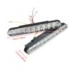 Kép 4/4 - Autós nappali menetfény – extra erős fényű 20 SMD LED / 10 db sárga index chip (LED-239)