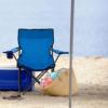Kép 4/4 - Összecsukható kempingszék pohártartóval / horgász szék - kék