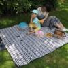Kép 3/4 - Kétoldalas piknik pléd / vízálló strand takaró - 150x130 cm