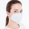 Kép 2/4 - FFP2 légzésvédő arcmaszk / szájmaszk (KN95) - 1 darab (fehér)