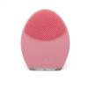 Kép 1/3 - Pulzáló szilikon arctisztító – rózsaszín