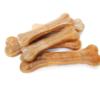 Kép 2/2 - Préselt fogtisztító kutyáknak, tehénbőrből / 4 db, 8,5 cm (BPS-5094)