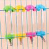 Kép 3/4 - Kisállat itató 80ml / ketrecre szerelhető, fémcsőrös, golyós – rózsaszín (BPS-1258)
