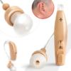 Kép 3/4 - Akkumulátoros hallásjavító készülék / hangerősítő