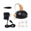 Kép 2/4 - Akkumulátoros hallásjavító készülék / hangerősítő